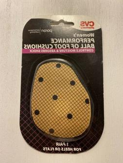 CVS Ball of Foot Cushions Pads for Support Pain Relief 1 Pai
