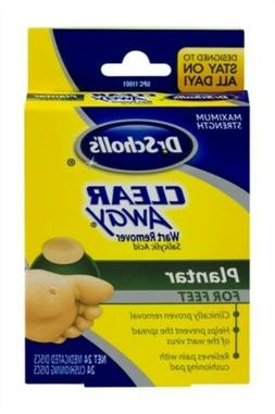 Dr. Scholl's Clear Away Wart Remover Medicated Disks, Planta