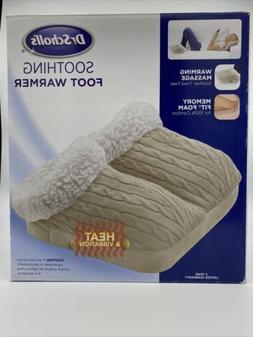 Dr. Scholl's Smoothing Foot Warmer heat & vibration  Massage