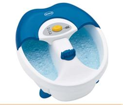 Dr. Scholl's DR6624 Toe-Touch Foot Spa with Bubbles and Mass