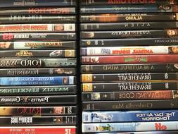 DVDS Movies PICK and CHOOSE From 300 + Action - Drama - Come