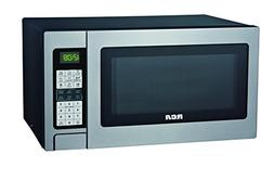 RCA 1.3 Cubic Foot Microwave with Grill Feature, Stainless S