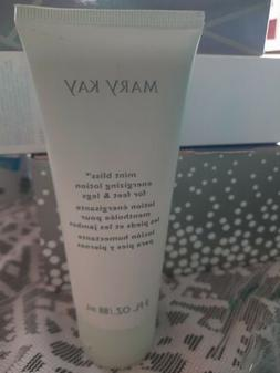 Mary Kay Mint Bliss Energizing Lotion For Feet & Legs