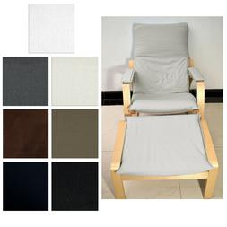 NEW  NO ZIPPER-Tailor Made For IKEA Poang Arm Chair Aa5