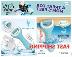 Amope Pedi Perfect Rechargeable Wet & Dry Foot File, Callous