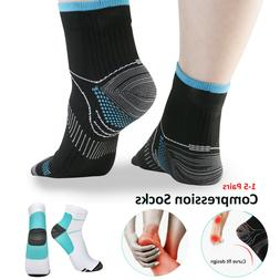 Plantar Fasciitis Compression Socks Arch Support Foot Pain R