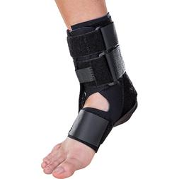 DONJOY ROCKETSOC ANKLE SUPPORT BRACE BLACK SMALL S LEFT FOOT