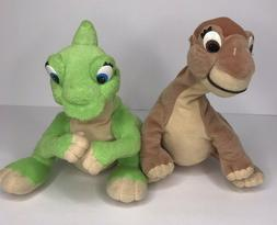 """The Land Before time Dinosaur Little Foot Ducky Beanbag 9"""" P"""