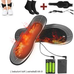 Winter USB Electric Heated Shoe InsolesS Pad Feet Foot Warme